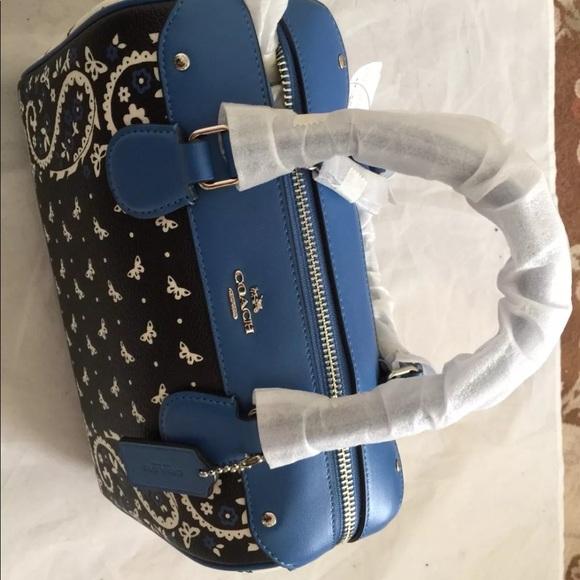 Coach Handbags - Coach F59328 Mini Bennett Satchel In Butterfly